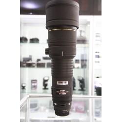 SIGMA DG 500MM F/4.5D EX APO HSM FOR NIKON
