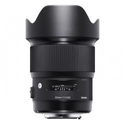 SIGMA ART 20MM F/1.4 DG HSM FOR CANON
