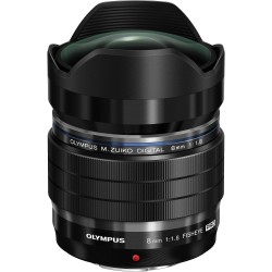 OLYMPUS ZUIKO DIGITAL ED 8MM F/1.8 FISHEYE PRO