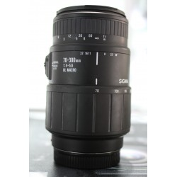 SIGMA 70-300MM F/4-5.6 DL MACRO FOR SONY A