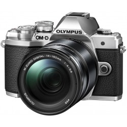 OLYMPUS E-M10 MARK III SILVER KIT ZOOM 14-150MM + FLASH