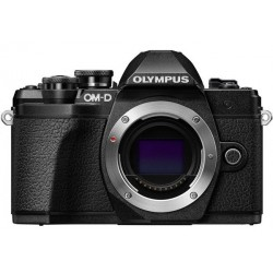 OLYMPUS E-M10 MARK III BLACK KIT ZOOM 14-42MM + FLASH