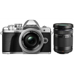 OLYMPUS E-M10 MARK III SILVER KIT ZOOM 14-42MM + FLASH