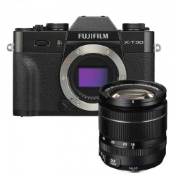 FUJIFILM X-T30 BLACK+ 18-55MM F/2.8-4 L RM OIS