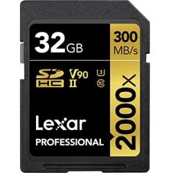 LEXAR PRO UHS-II 32GB SDXC 2000X