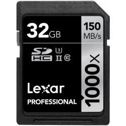 LEXAR PRO UHS-II 32GB SDXC 1000X