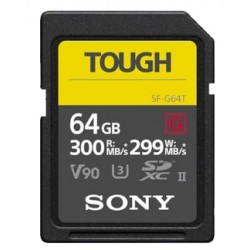 SONY SDXC 64GB TOUGH UHS-II