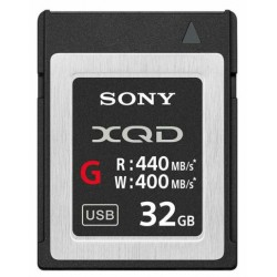 SONY XQD 32GB HIGH SPEED 440 MO/S