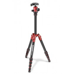 MANFROTTO PETIT TREPIED ELEMENT TRAVELLER ROUGE