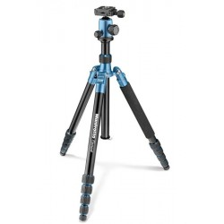 MANFROTTO GRAND TREPIED ELEMENT TRAVELLER BLEU
