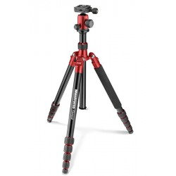MANFROTTO GRAND TREPIED ELEMENT TRAVELLER ROUGE