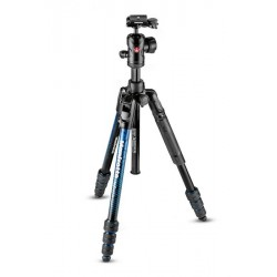MANFROTTO TREPIED ADVANCED ALU BLEU