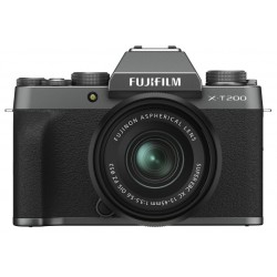 FUJIFILM X-T200 DARK SILVER KIT XC 15-45MM PZ