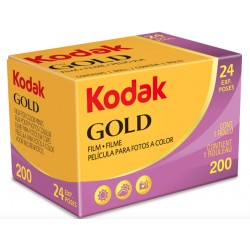 KODAK GOLD NEGATIF COULEUR 200 ISO 24 POSES
