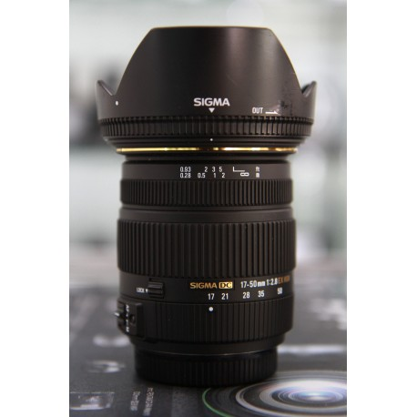 SIGMA DC 17-50MM F/2.8 EX HSM FOR SONY A